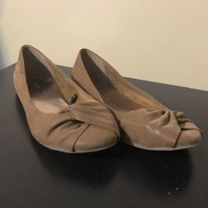 Maurice's camel colored flats